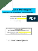 Leitfaden zum Datenzugriff der Generalstaatsanwaltschaft München