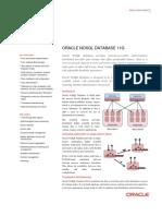 Nosql Database Data Sheet 498054