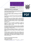Nota Prensa Elecciones Presidente