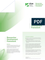 Vitae Researcher Development Framework[1]