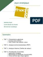 Rapport d Analyse Strategique Fnac
