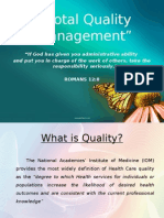 Total Quality Management-Report