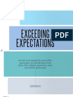 Exceeding Expectations Airline Trends Apex Magazine Fall2011