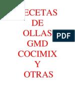 Recetas GMD 1