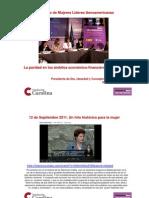 La paridad en los ámbitos económico, financiero y empresarial. Ana María Llopis
