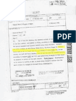 Edmond  Cross report on Walther Rauff's work for the Israeli secret service