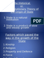 1de48The Historical or Evolutionary Theory of the Origin of State