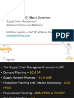SAP SCM (APO) Overview