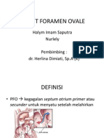 Patent Foramen Ovale