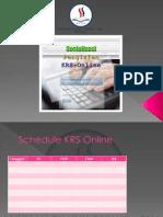 Presentasi Sosialisasi KRS Online Kpd Mahasiswa