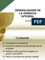 General Ida Des Gerencia Integral