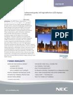 P Series Spec Brochure