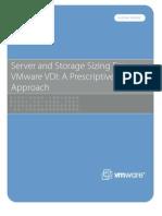 VMware VDI Server and Storage Sizing 120508