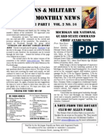 Veterans & Military Families Monthly News-October 2011 Part I