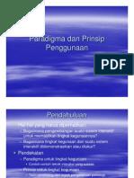 05 Paradigma Dan Prinsip Penggunaan