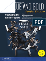 Capturing the Spirit of Sport - Issue 10 (The Blue and Gold) - September 2010
