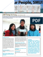 Meet Our People, SMU! - Issue 4 (UniVantage) - September 2011