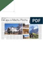 Del Apu a Machu Picchu