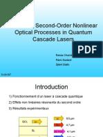Laser Cascade Quantique