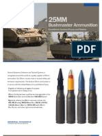 25mm Bushmaster Ammunition