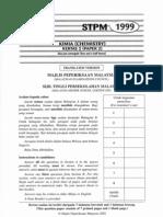 STPM Chemistry 1999 - Paper 2