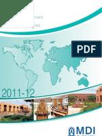 MDP Calendar 2011 12