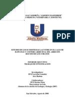 Informe Del Estudio de Los Ecosistemas Lacustre y Costero FMVZ