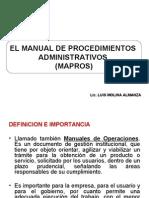 TEMA 3 Manual de Procedimientos Administrativos