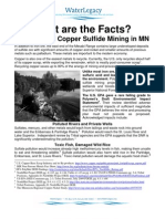 PolyMet and Copper Sulfide Mining in MN Fact Sheet