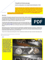 MKIII Timing Belt and Full Water Pump Page