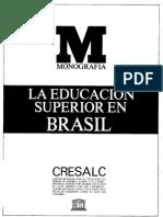 educación superior en Brasil