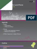 Html5 iPhone
