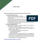 Tutorial 2-Language Forms n Function