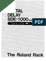 SDE-1000_OM