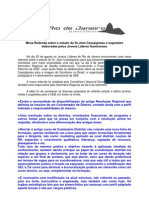 Relatório - Mesa redonda com jovens lideres do RJ do estudo do Jean Cassaigneau-25-08-2008