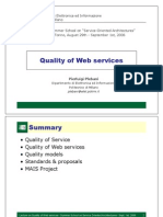 Quality of Web Services
