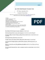 EUI_Bibliography of the Global Financial_Economic Crisis