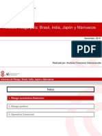 Dpto. Comercio Exterior - Jornada Riesgo Pas - Japn, cos India y Brasil - 18.11.2011 - Edita AFI