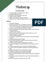 Manualde Instalacion de XP, 7 Y LINUX