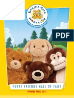 Build-A-Bear Workshop Collectors Guide 4/2012