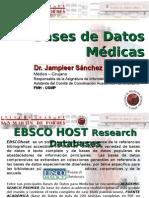 Bases de Datos de Medicina