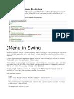 Swings Tips
