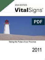 N.S. Vital Signs 2011 Report