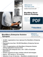 Blackberry Server Software Roadmap