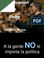 Comunicación y Poder - Federico Hoyos
