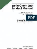 JamesWilleyZubrick-The Organic Chem Lab Survival Manual(2ed