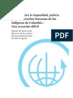 Observación de Juicio en Popayán, Colombia