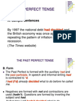 1035the Past Perfect Tense
