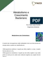 Metabolismo e Crescimento Bacteria No
