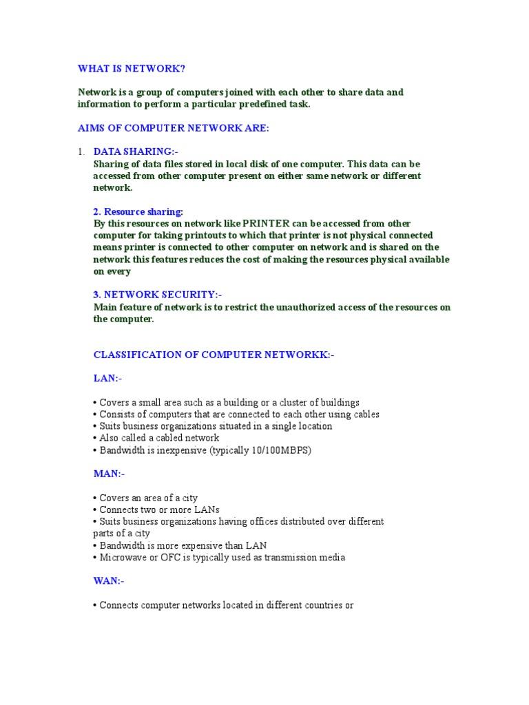 Networking 2 | Transmission Medium | Network Interface